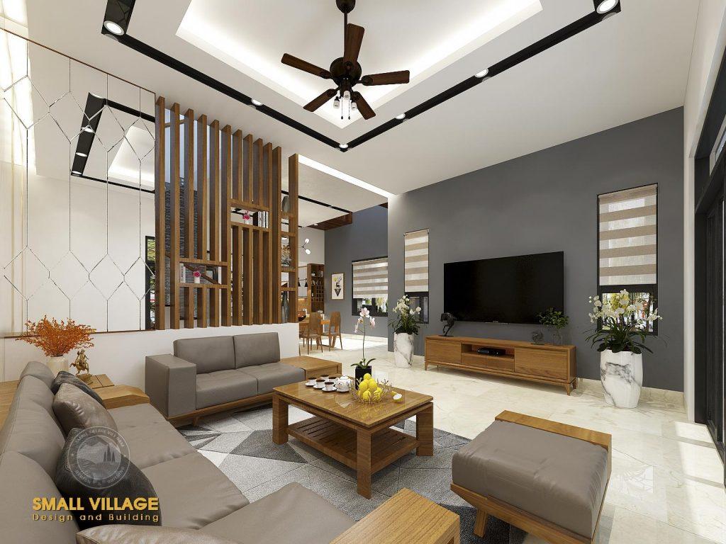 Thiết kế Nội thất Phòng khách hiện đại đẹp tại Ninh Bình