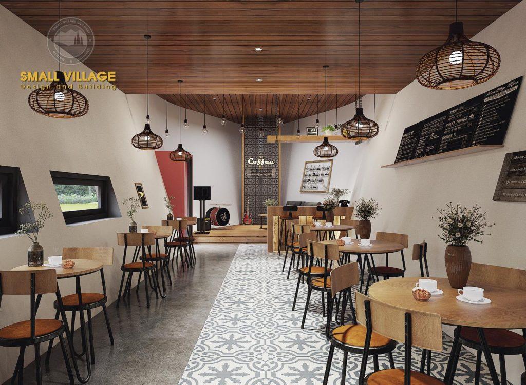 Trang trí Nội thất- thiết kế Nội thất quán bar - cafe tại Ninh Bình