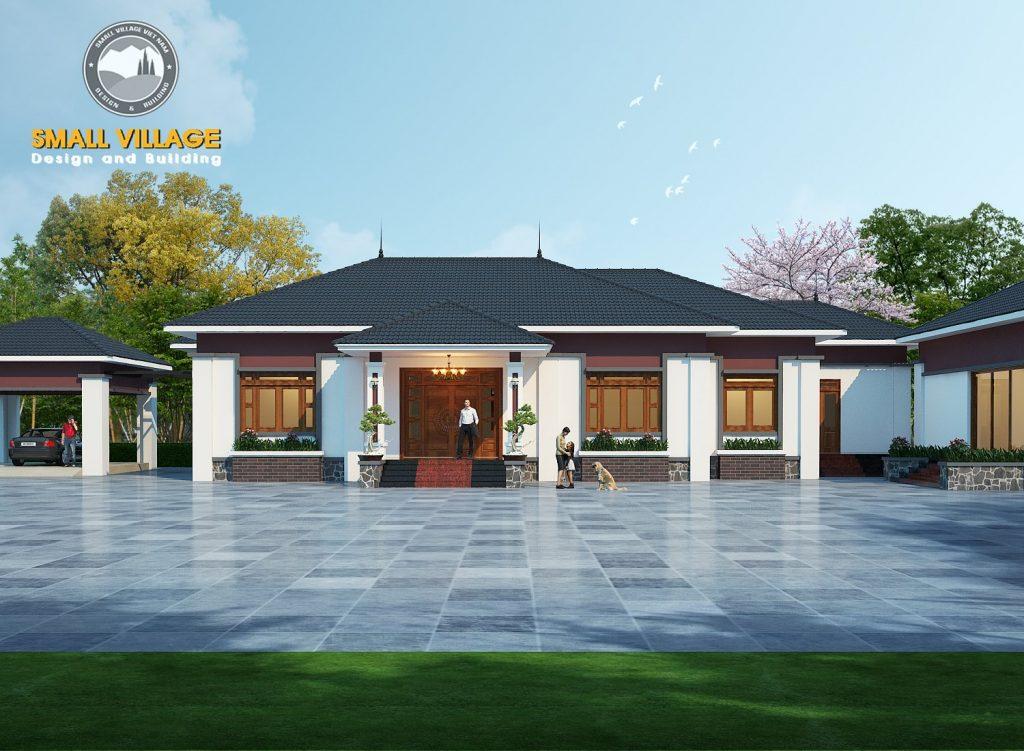 Thiết kế kiến trúc nhà đẹp tại Ninh Bình
